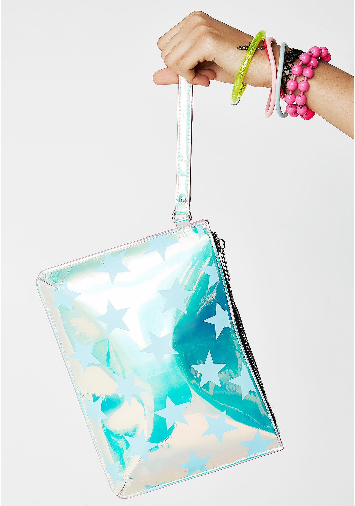 Skinnydip Star Avery Clutch