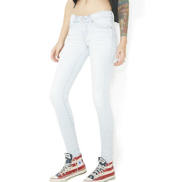 Levis 711 Stretch Skinny Jeans