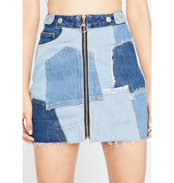 Sassy N' Bad-azzy Denim Skirt