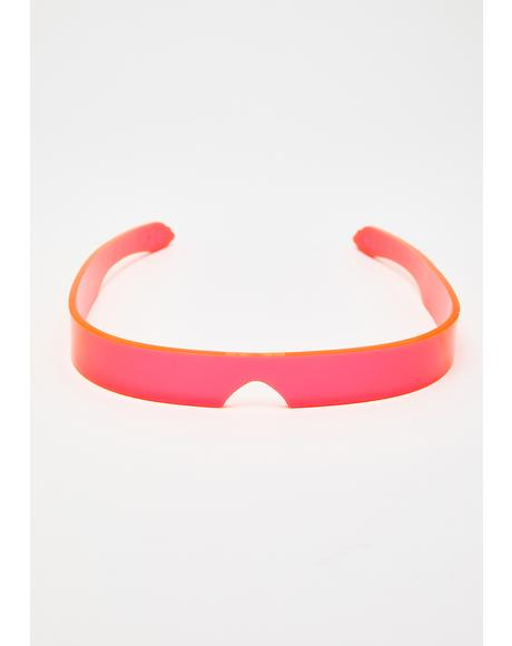 Pink Flash Visor
