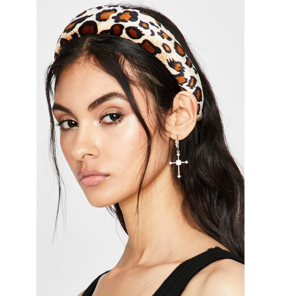 Icy Fierce Facts Leopard Headband