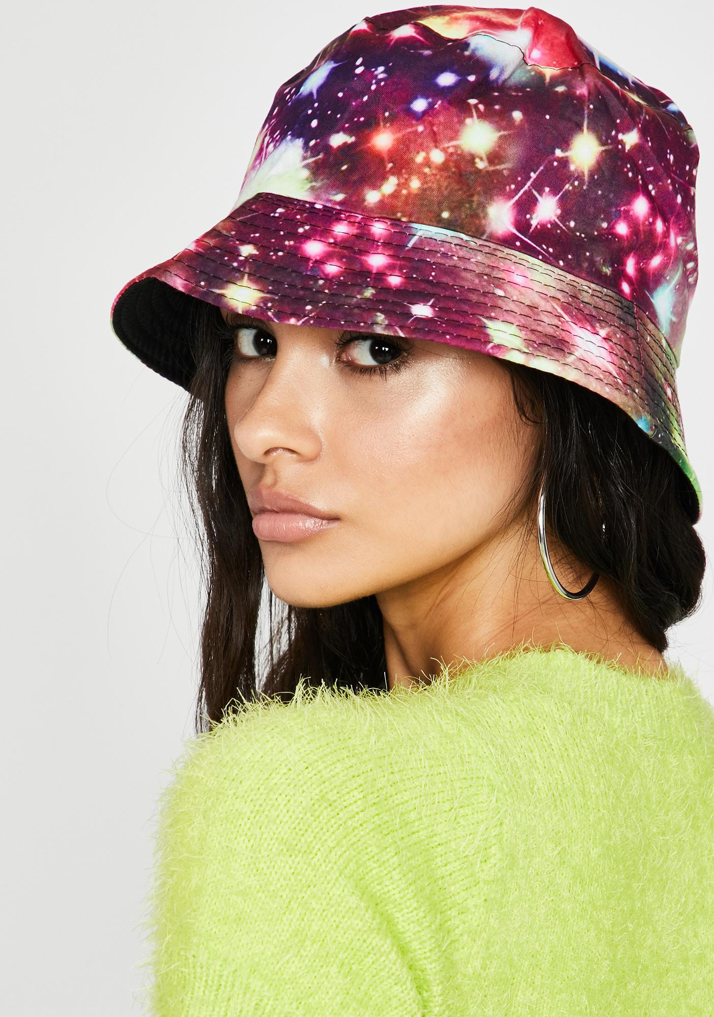 Flame Outta This World Bucket Hat