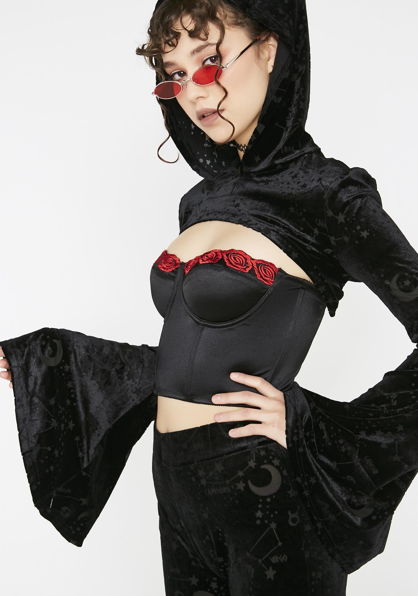 Killstar Belinda Hooded Bolero