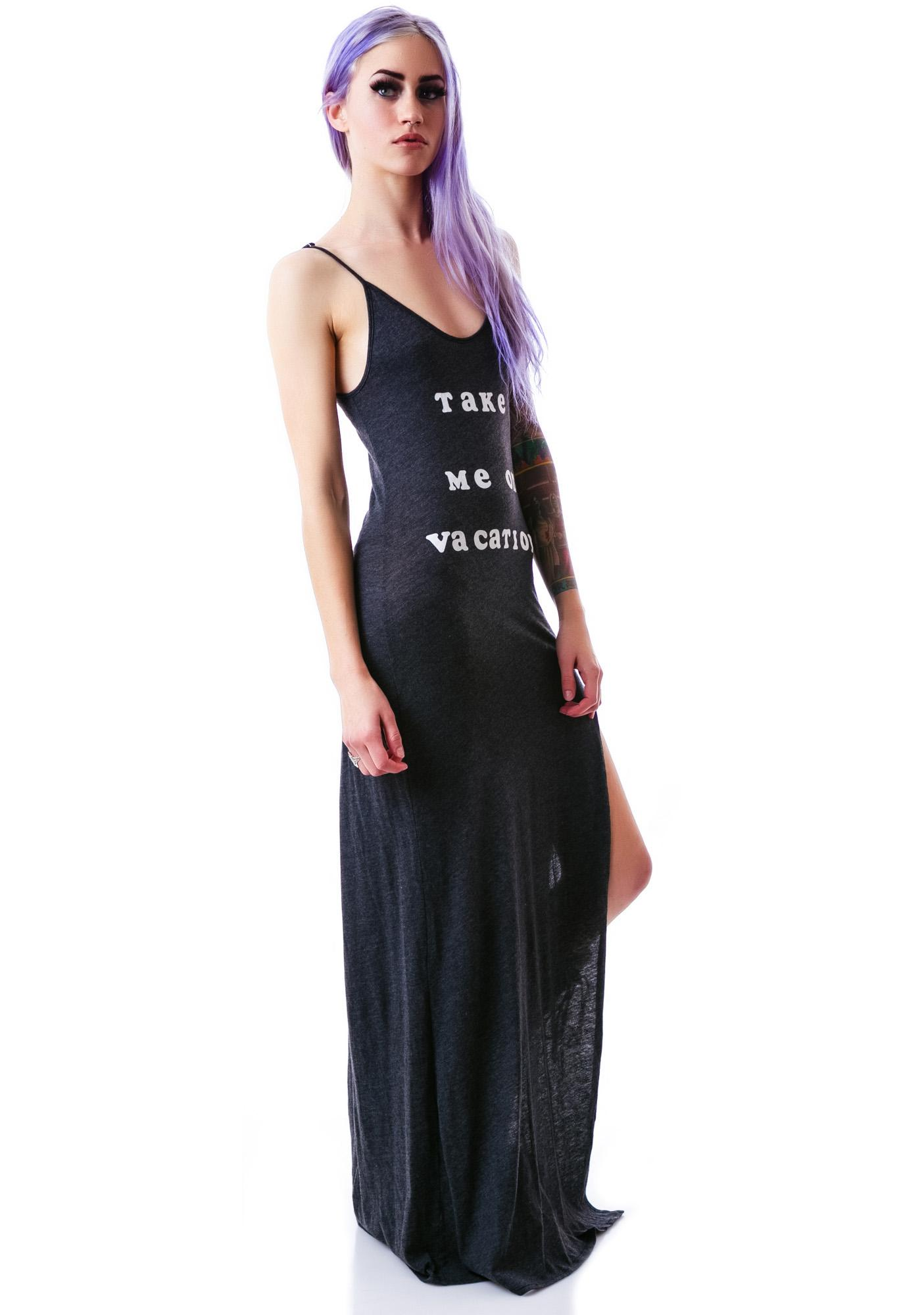 Wildfox Couture 70's Vacation Jetset Maxi