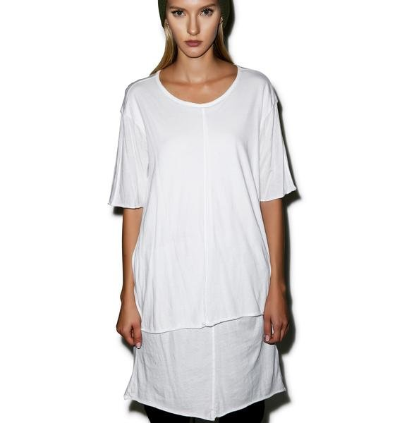 Knomadik Knomad Layered T-Shirt Dress