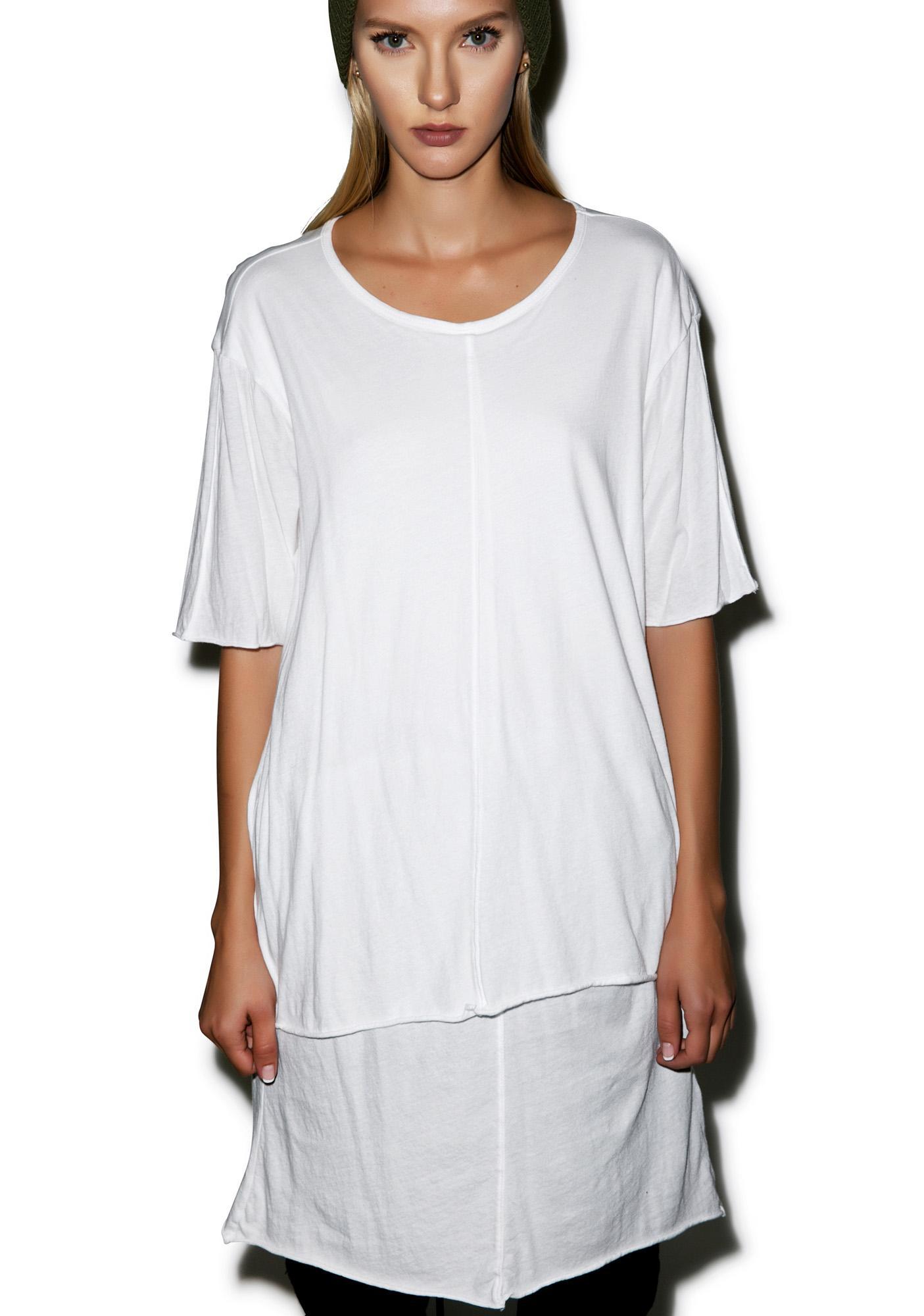 Knomadik Knomad Layered T-Shirt Dress