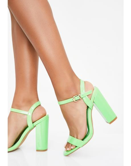 Vivid Sass Block Heels