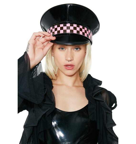 Tight Race Checkered Hat