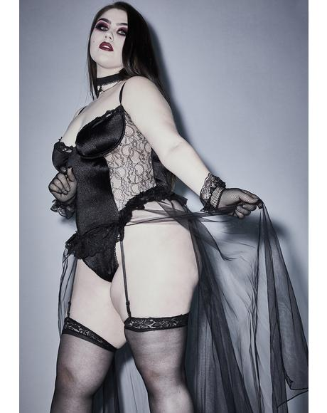 Unholy Familiar Rituals 3-Piece Lingerie Set
