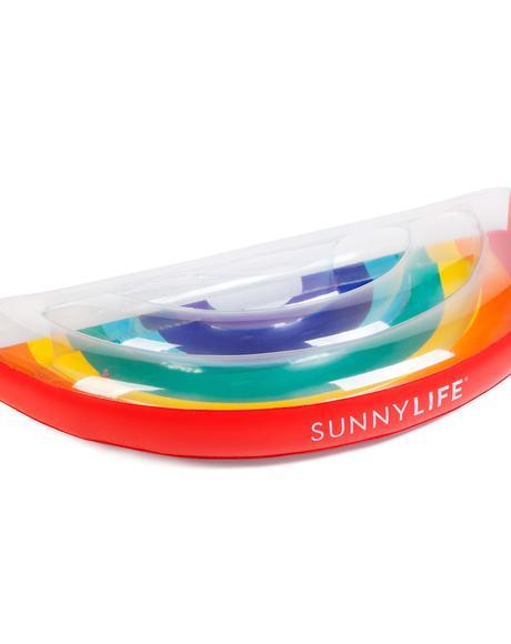 Lucky Rainbow Pool Float