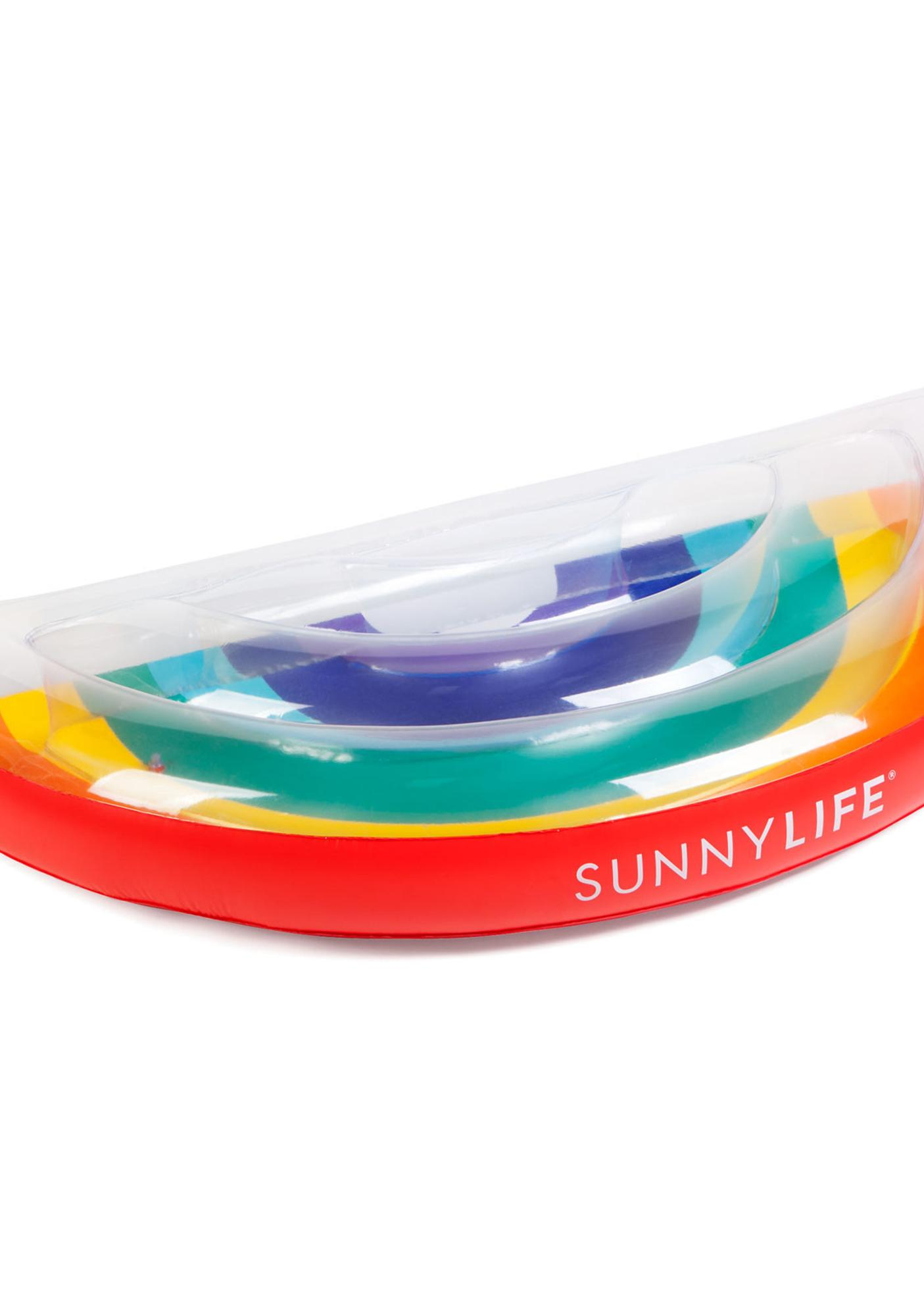 Lucky Rainbow Pool Float
