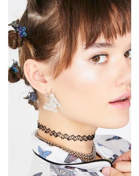 CrazyCuteCool Butterfly Earrings