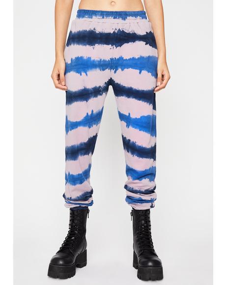 Chillax Babe Tie Dye Joggers