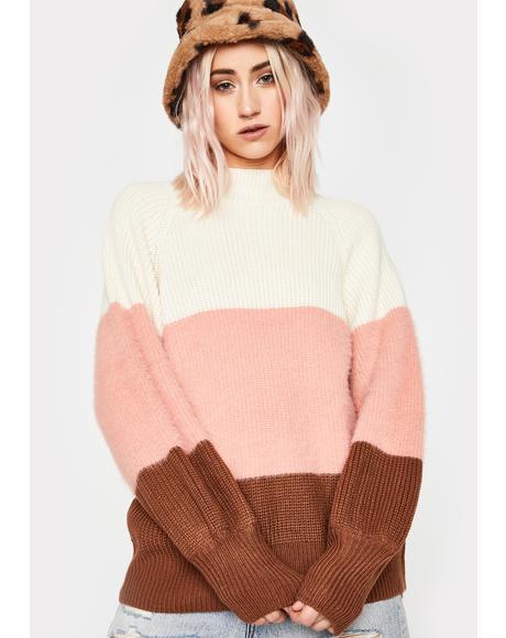 Mood Levels Striped Sweater