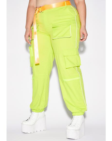 Fluoro It's Fight Or Flight Cargo Pants