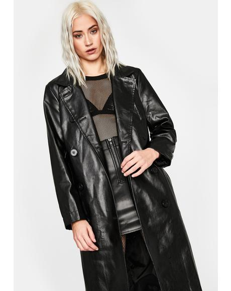 In Contempt Trench Coat