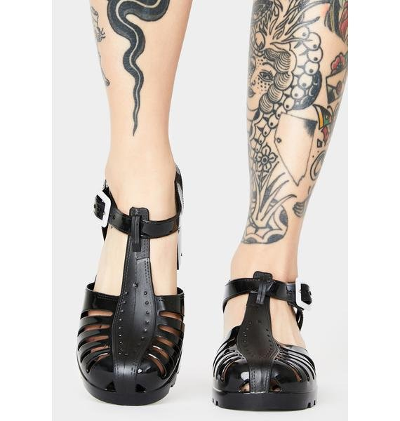 Wicked Total Transparency Jelly Shoes