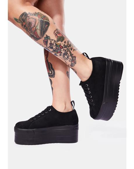 On the Jump Platform Sneaker