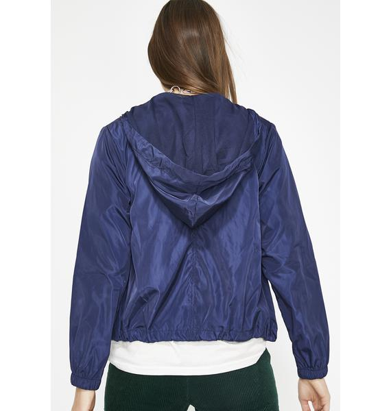 Royal Breakaway Babe Nylon Jacket