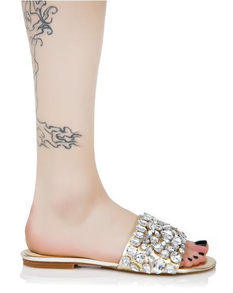 Dazzle Jeweled Slides