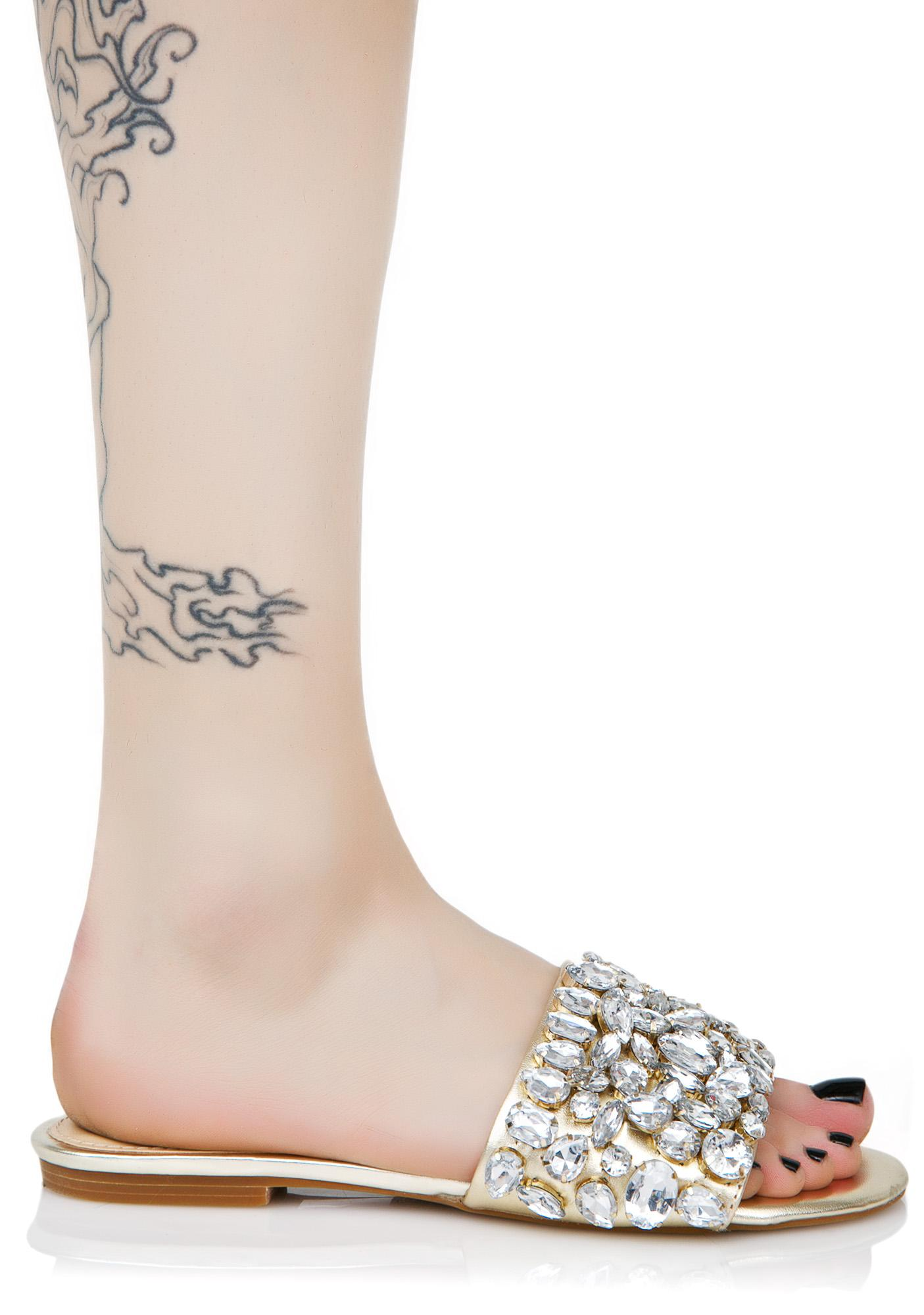 Lust For Life Dazzle Jeweled Slides
