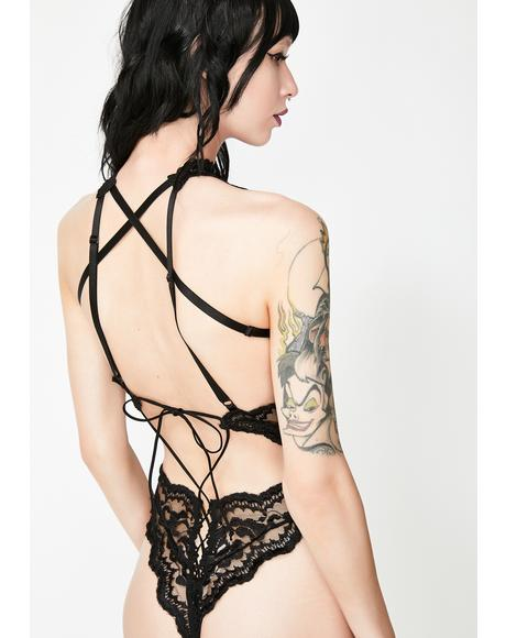 Chase The Night Lace Teddy