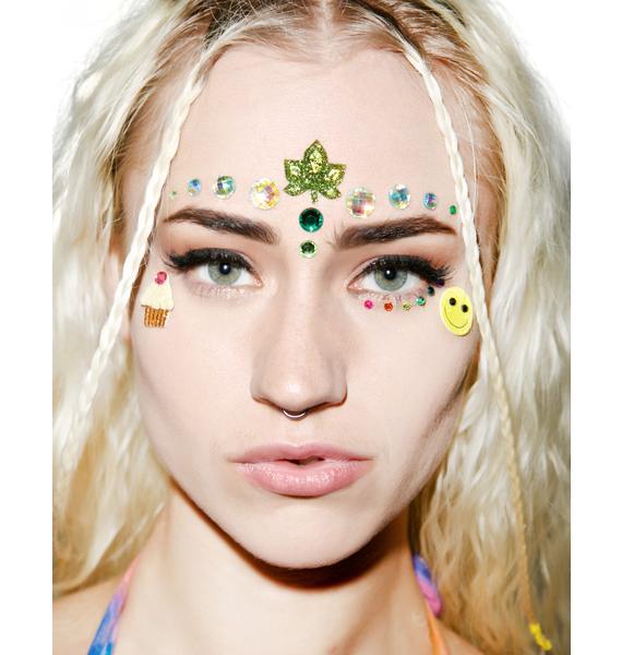 Wicked Hippie 420 Munchies Face Jewelz