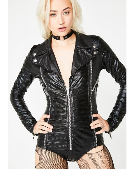 Hell On Wheels Moto Costume