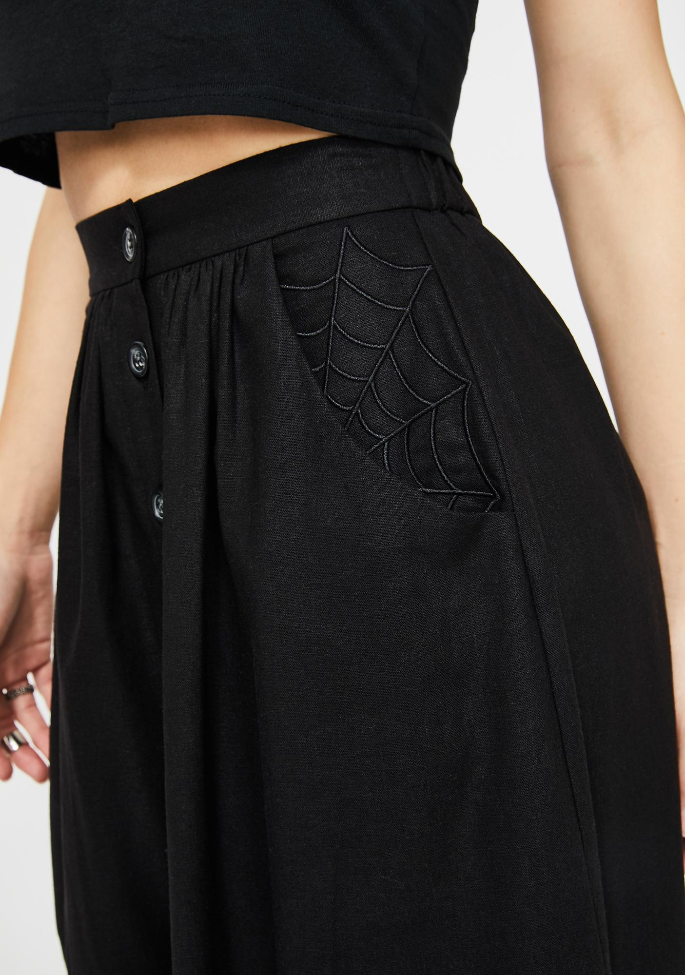 Mary Wyatt London Lydia Button Down Skirt