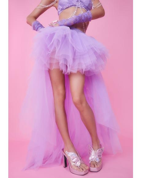 Lavender Nymph Princess Tulle Skirt