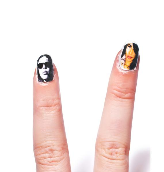 Rock The Boat Nail Decal