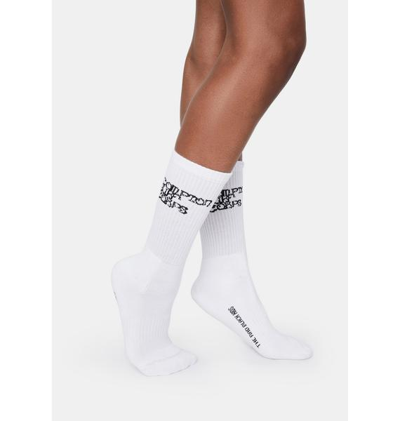 The Rad Black Kids CPT Surf Socks