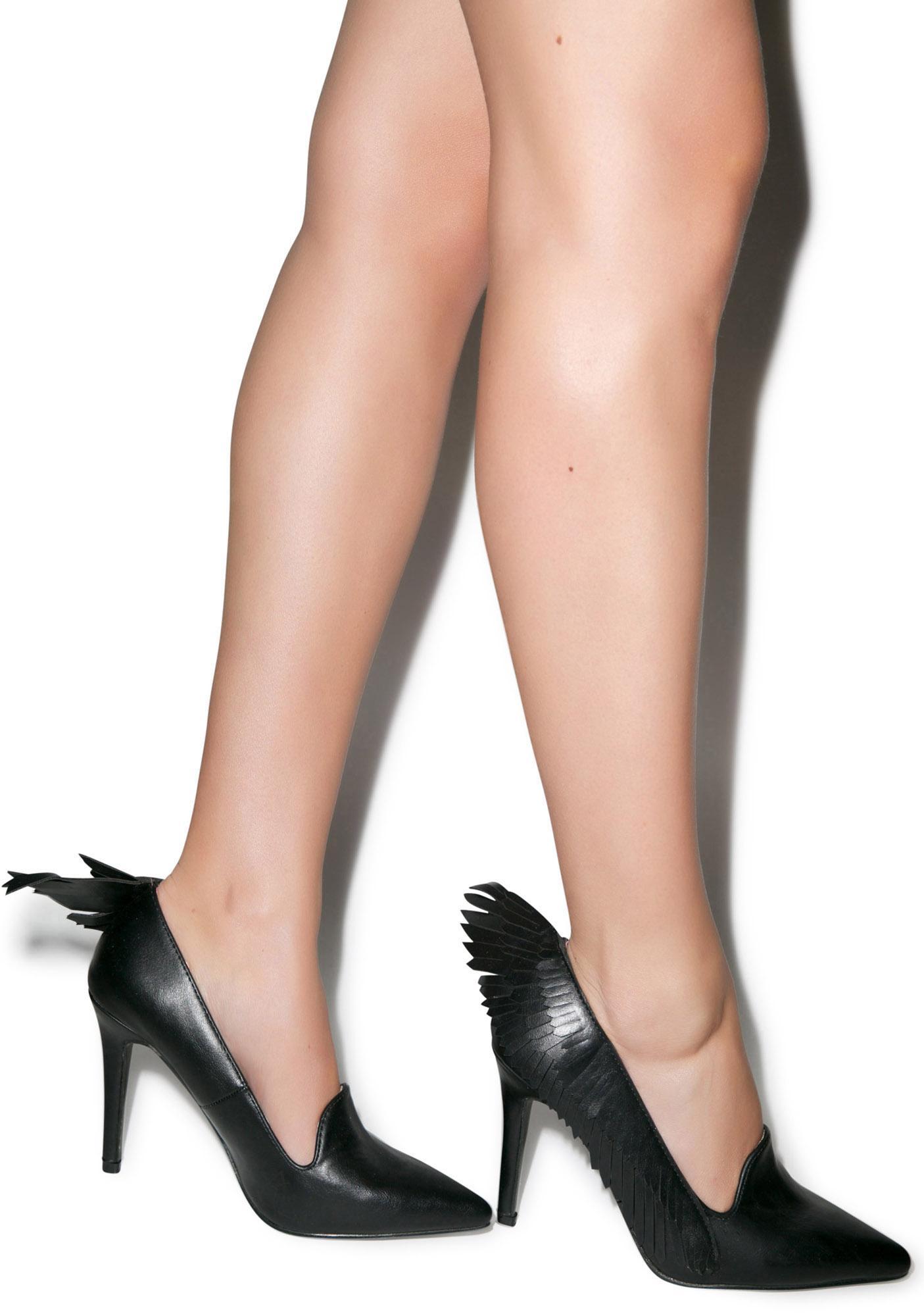 Y.R.U. Leather Angyl Heel