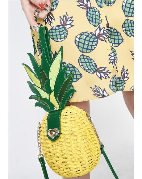 Kitsch Pineapple Surprise Crossbody