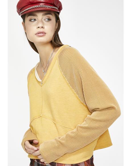 Retro Babe Knit Pullover