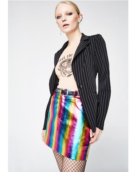 Candy Flipp Rainbow Skirt