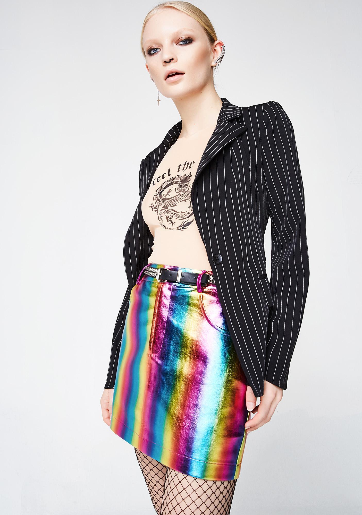 Candy Flipp Rainbow Skirt