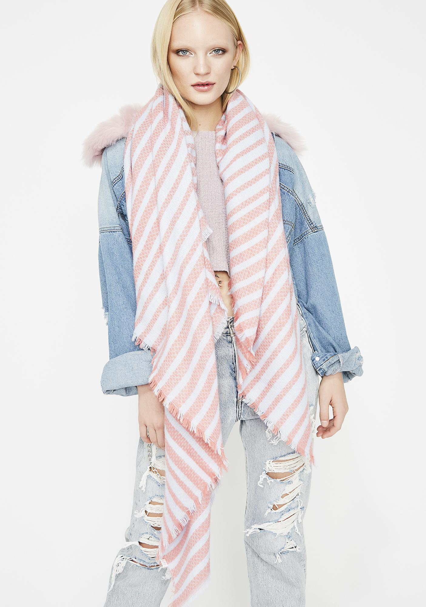 Deep Sea BB Stripe Scarf