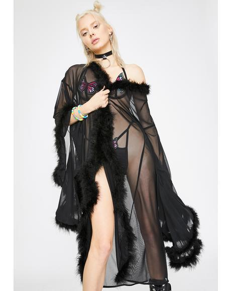 Black Fairytale Kimono