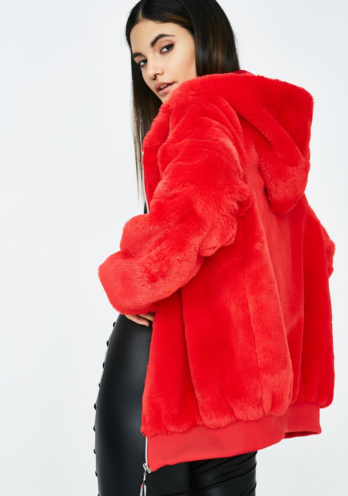 Creature Comfort Furry Hoodie