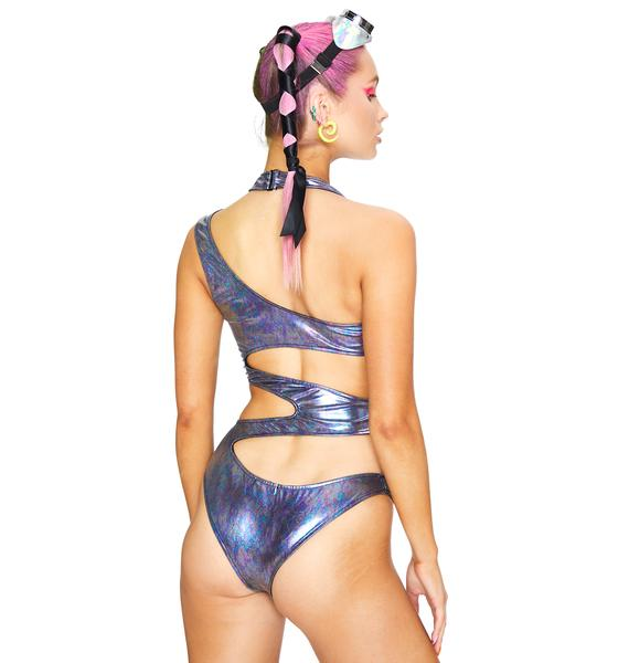 Club Exx Liquid Ecstasy Cut-Out Bodysuit