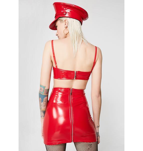 Matte Siren PVC Skirt