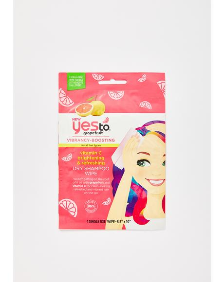 Dry Shampoo Wipe For Unicorn Hair