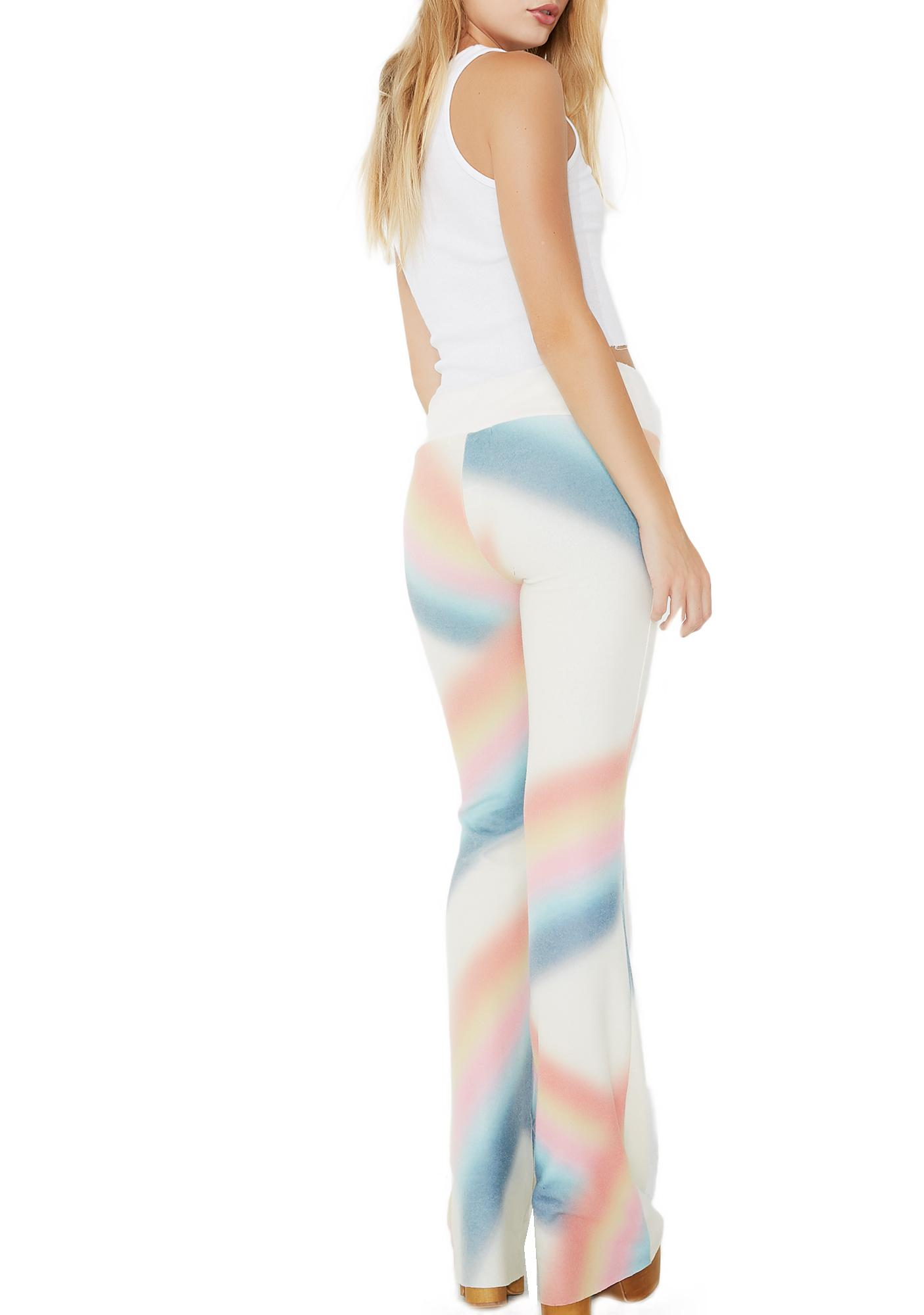Wildfox Couture Cosmic Rainbow Tennis Club Pants