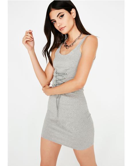 Doin' Me Corset Mini Dress