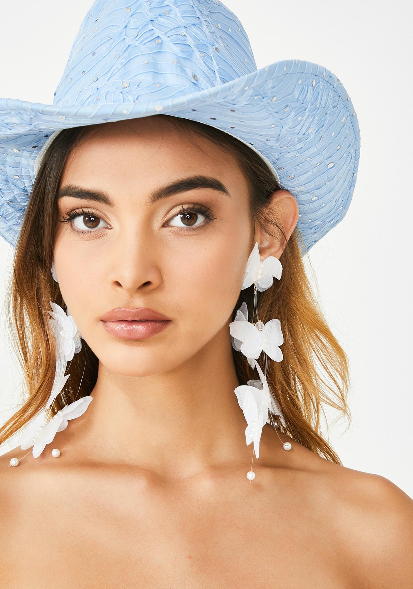 Metamorphic Goddess Drop Earrings
