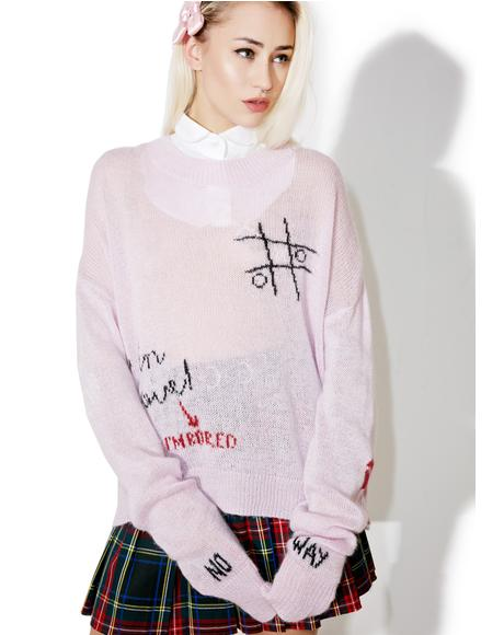 Girls Room Wordz Sweater