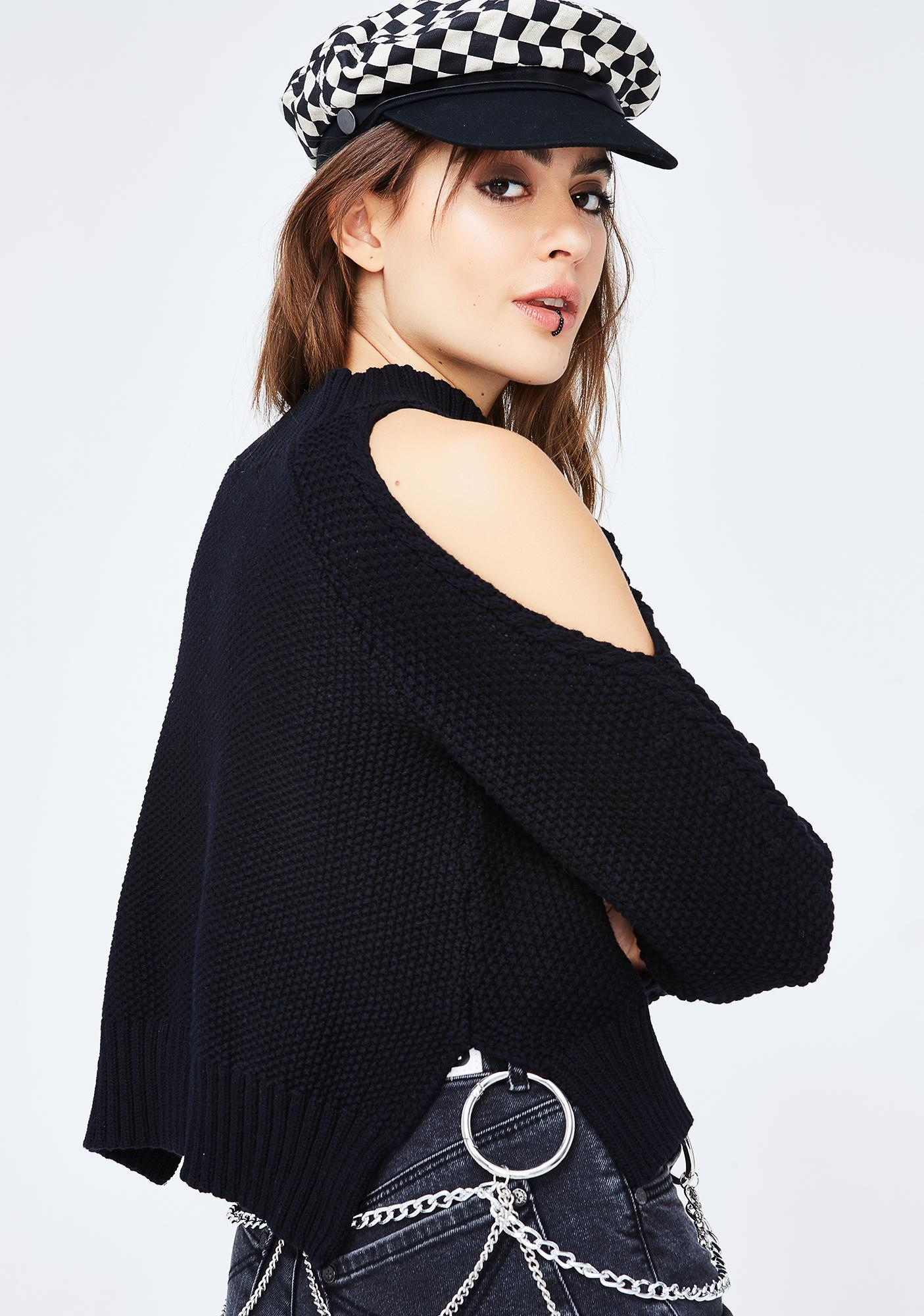 Cold Blooded Knit Sweater