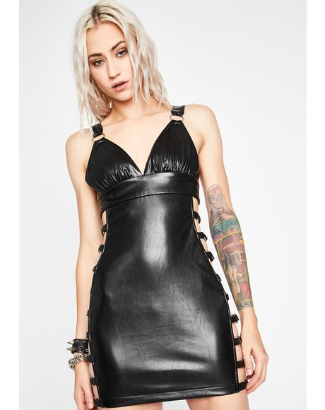 Dark Hours Cut-Out Dress