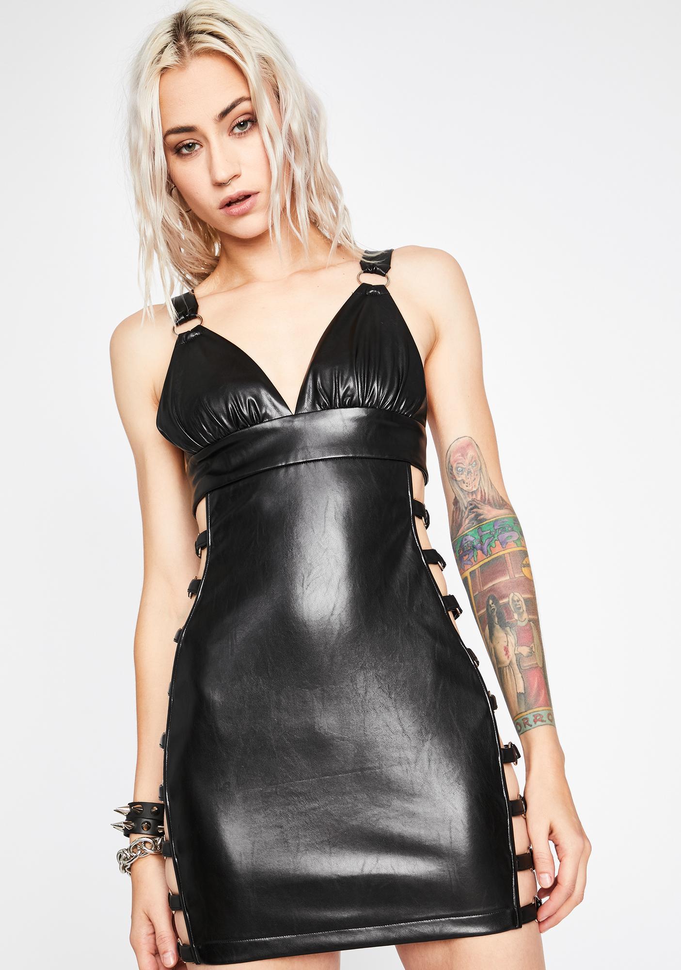 Dark Hours Cut-Out Dress